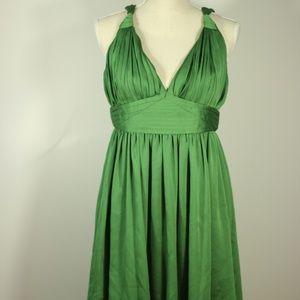 BCBGEneration Green Dress Haulter Top Size 12
